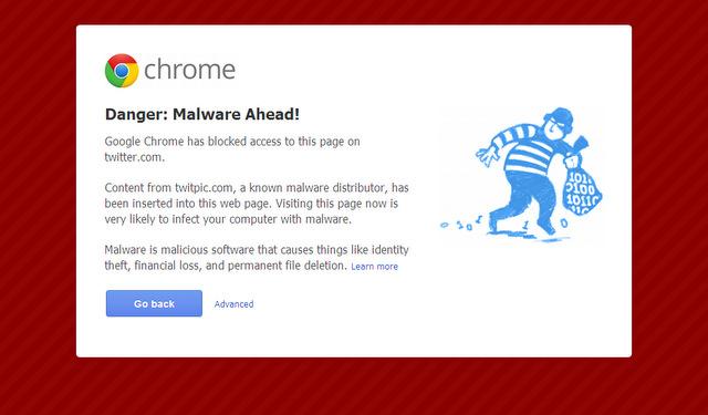 Danger: Malware Ahead